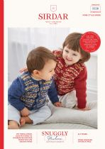 Sirdar Snuggly Heirloom DK Knitting Pattern Booklet - 5328 Cardigans